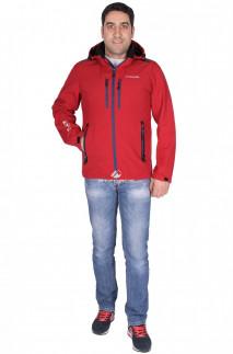 Купить оптом ветровка - виндстоппер мужская бордового цвета 1739Bo в интернет магазине MTFORCE.RU