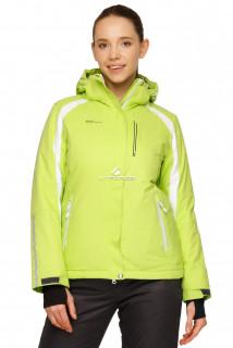 Купить оптом куртка горнолыжная женская салатового цвета 1746Sl в интернет магазине MTFORCE.RU