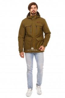 Купить оптом куртку мужскую осень весна хаки цвета 1747Kh в интернет магазине MTFORCE.RU
