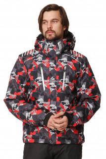 Купить оптом куртка горнолыжная мужская красного цвета 1749Kr в интернет магазине MTFORCE.RU