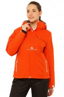 Купить оптом куртку горнолыжную женскую оранжевого цвета 1750O в интернет магазине MTFORCE.RU