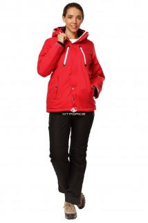 Купить оптом костюм горнолыжный женский красного цвета 01753Kr в интернет магазине MTFORCE.RU