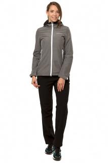 Купить оптом костюм виндстопер женский серого цвета 01761Sr в интернет магазине MTFORCE.RU