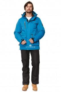 Купить оптом костюм горнолыжный мужской синего цвета 01763S в интернет магазине MTFORCE.RU