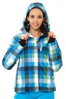Купить оптом куртка горнолыжная женская голубого цвета 1807Gl в интернет магазине MTFORCE.RU