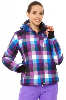 Купить оптом куртку горнолыжную женскую фиолетового цвета 1807F в интернет магазине MTFORCE.RU