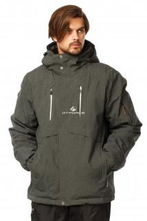 Купить оптом куртку горнолыжную мужская большого размера цвета хаки 1767Kh в интернет магазине MTFORCE.RU