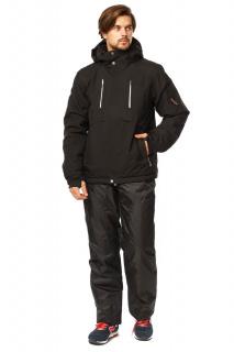 Купить оптом костюм горнолыжный мужской черного цвета 01768Ch в интернет магазине MTFORCE.RU