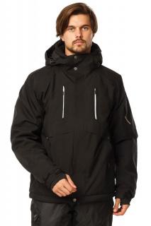 Купить оптом куртку горнолыжную мужская черного цвета 1768Ch в интернет магазине MTFORCE.RU