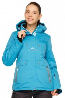 Купить оптом куртку горнолыжную женскую голубого цвета 1770Gl в интернет магазине MTFORCE.RU