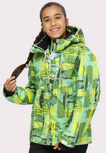 Интернет магазин MTFORCE.ru предлагает куртка горнолыжная подростковая для девочки салатового цвета 1774Sl по выгодной и доступной цене с доставкой по всей России и СНГ