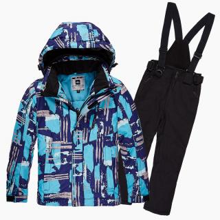 Интернет магазин MTFORCE.ru предлагает купить оптом костюм горнолыжный для девочки голубого цвета 01773Gl по выгодной и доступной цене с доставкой по всей России и СНГ