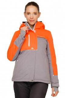 Купить оптом куртку горнолыжную женскую персикового цвета 1777Р в интернет магазине MTFORCE.RU