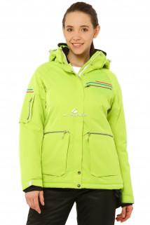 Купить оптом куртку горнолыжную женскую салатового цвета 1778Sl в интернет магазине MTFORCE.RU