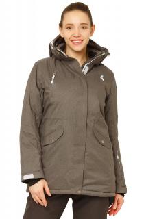 Купить оптом куртку горнолыжную женскую большого размера темно-серого цвета 1783ТС в интернет магазине MTFORCE.RU