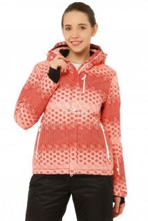 Купить оптом куртку горнолыжную женскую персикового цвета 1786P в интернет магазине MTFORCE.RU
