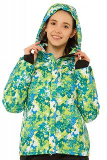 Купить оптом куртку горнолыжную женскую зеленого цвета 1787Z в интернет магазине MTFORCE.RU