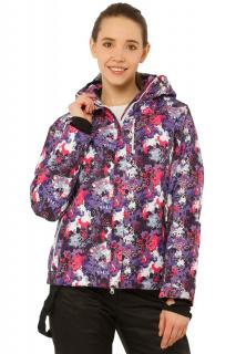 Купить оптом куртку горнолыжную женскую фиолетового цвета 1787F в интернет магазине MTFORCE.RU