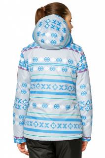 Купить оптом куртку горнолыжную женскую серого цвета 1795Sr в интернет магазине MTFORCE.RU
