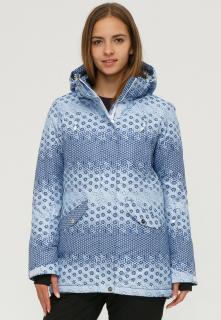 Купить оптом куртку горнолыжную женскую синего цвета 1810S в интернет магазине MTFORCE.RU