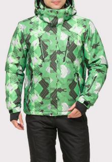 Купить оптом куртку горнолыжную мужская зеленого цвета 18108Z в интернет магазине MTFORCE.RU