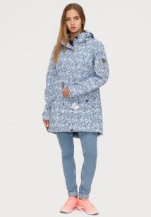 Купить оптом ветровку парку softshell мужскую осень весна синего цвета 18110S в интернет магазине MTFORCE.RU