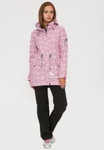 Купить оптом костюм женский softshell розового цвета 018110R в интернет магазине MTFORCE.RU
