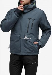 Купить оптом куртку горнолыжную мужская темно-серого цвета 18122TC в интернет магазине MTFORCE.RU