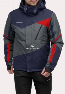 Интернет магазин MTFORCE.ru предлагает купить оптом куртку горнолыжную мужская темно-синего цвета 18123TS по выгодной и доступной цене с доставкой по всей России и СНГ