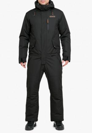 Купить оптом комбинезон горнолыжный мужской черного цвета 18126Ch в интернет магазине MTFORCE.RU
