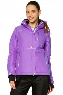 Купить оптом куртку горнолыжную женскую фиолетового цвета 1812F в интернет магазине MTFORCE.RU