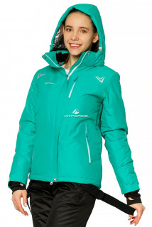 Купить оптом куртку горнолыжную женскую зеленого цвета 1812Z в интернет магазине MTFORCE.RU