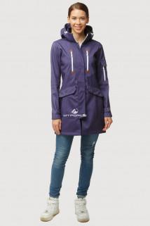 Купить оптом ветровку парку softshell мужскую осень весна темно-фиолетового цвета 1814-1TF в интернет магазине MTFORCE.RU