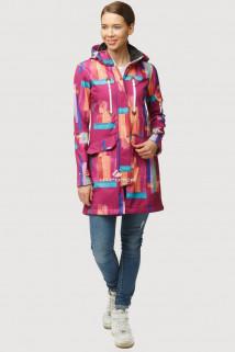 Купить оптом ветровку парку softshell мужскую осень весна фиолетового цвета 1814F в интернет магазине MTFORCE.RU