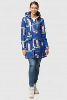 Купить оптом ветровку парку softshell мужскую осень весна синего цвета 1814S в интернет магазине MTFORCE.RU
