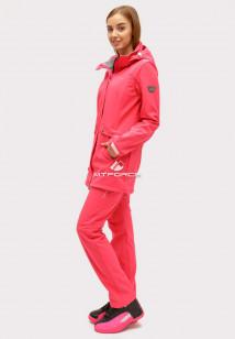 Купить оптом костюм женский softshell розового цвета 018125R в интернет магазине MTFORCE.RU