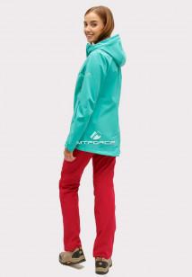 Купить оптом костюм женский softshell зеленого цвета 01816-1Zr в интернет магазине MTFORCE.RU