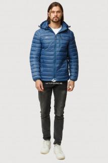Купить оптом куртку мужскую стеганную синего цвета 1852S в интернет магазине MTFORCE.RU
