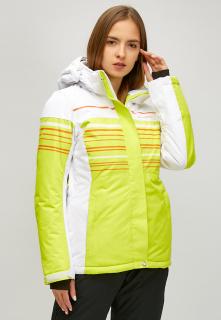 Купить оптом женскую зимнюю горнолыжную куртку салатового цвета в интернет магазине MTFORCE 1856sl