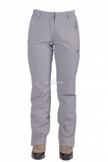 Купить оптом брюки женские большого размера осень-весна серого цвета 1882-1Sr в интернет магазине MTFORCE.RU