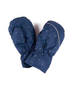 Рукавицы детские зимние темно-синего цвета купить оптом в интернет магазине MTFORCE 1887TS