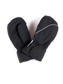 Рукавицы детские зимние черного цвета купить оптом в интернет магазине MTFORCE 1887Ch