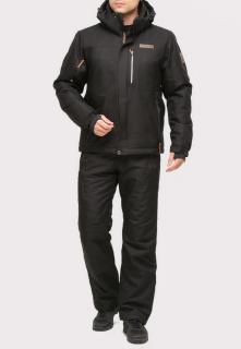 Купить оптом костюм горнолыжный мужской черного цвета 01901Ch в интернет магазине MTFORCE.RU
