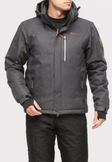 Купить оптом куртку горнолыжную мужская темно-серого цвета 1901TC в интернет магазине MTFORCE.RU