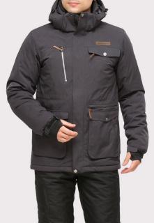Интернет магазин MTFORCE.ru предлагает купить оптом куртку горнолыжную мужская темно-серого цвета 1910TC по выгодной и доступной цене с доставкой по всей России и СНГ