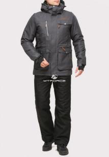 Купить оптом костюм горнолыжный мужской темно-серого цвета 01911TС в интернет магазине MTFORCE.RU