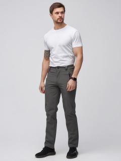 Виндстопер мужские осенние весенние серого цвета купить оптом в интернет магазине MTFORCE 19121Sr