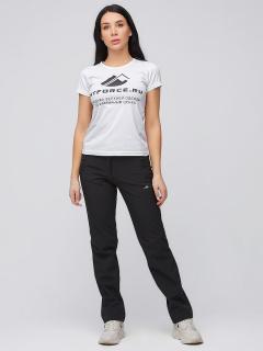 Виндстопер женские осенние весенние черного цвета купить оптом в интернет магазине MTFORCE 1926Ch