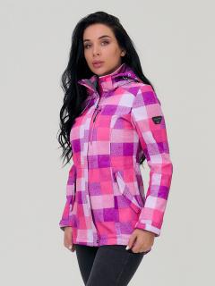 Фабрика производитель MTFORCE предлагает купить оптом женскую осеннюю весеннюю парку softshell розового цвета по выгодной и доступной цене с доставкой в городе *город*, а так же по всей России и СНГ. Артикул товара 1923R