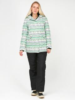 Горнолыжный костюм женский зимний салатового цвета купить оптом в интернет магазине MTFORCE 01937Sl